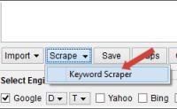 谷歌英文关键词工具:Keyword Scraper讲解