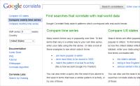 谷歌英文关键词工具:Google Correlate讲解