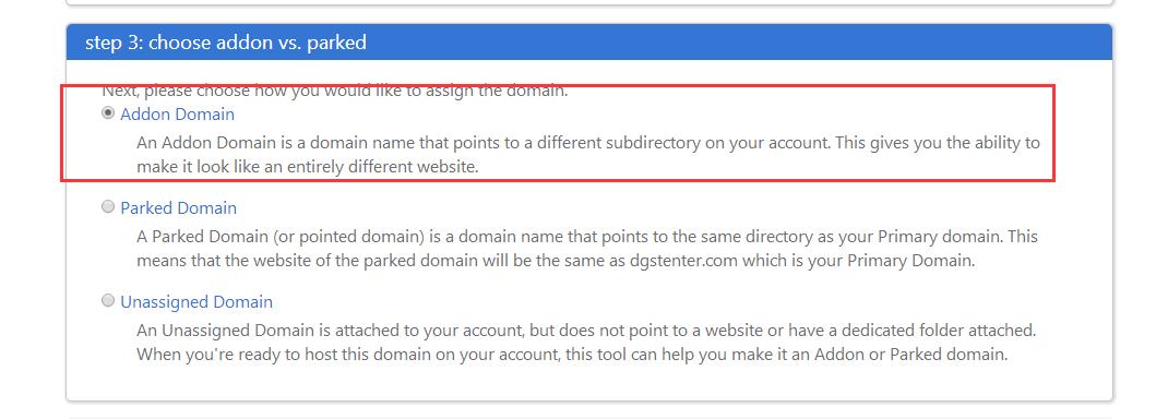 Bluehost vps如何放多个网站?