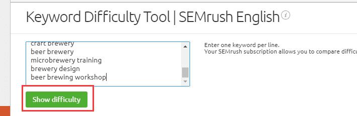 Semrush使用讲解(2)——关键词部分