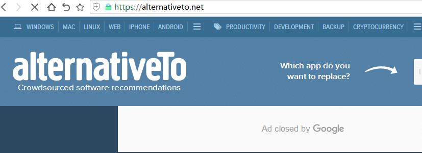 如何查找与某网站类似的网站,或某种工具的替代品?