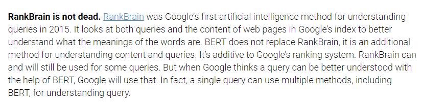 2019谷歌算法揭秘 分析一下谷歌算法